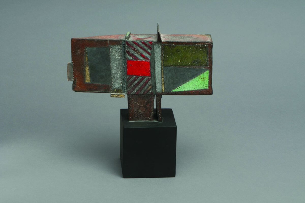 Maquettes for Wedge Series, Red Square & Green Field